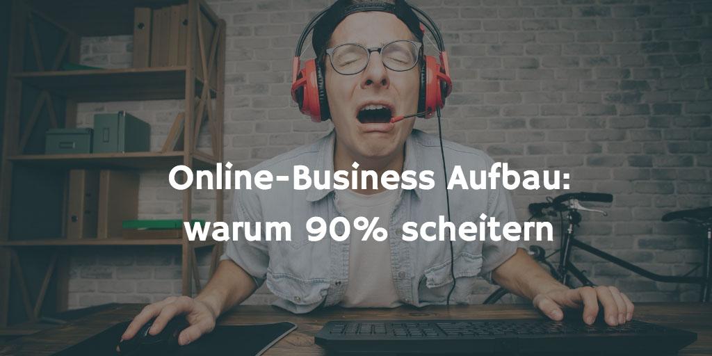 Online Business scheitern